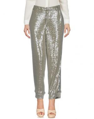Повседневные брюки SOHO DE LUXE. Цвет: зеленый-милитари
