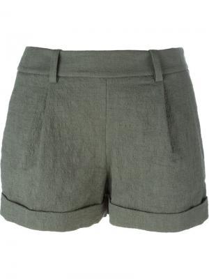 Классические шорты Diane Von Furstenberg. Цвет: зелёный