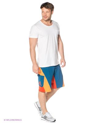 Пляжные шорты Everyday Outdoor Cool Adidas. Цвет: морская волна, красный, оранжевый
