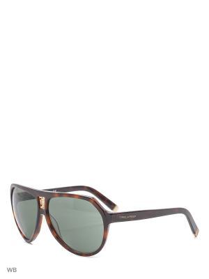 Солнцезащитные очки DQ 0058 52N Dsquared2. Цвет: коричневый