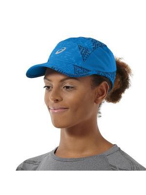 Кепка PERFORMANCE LYTE CAP ASICS. Цвет: голубой