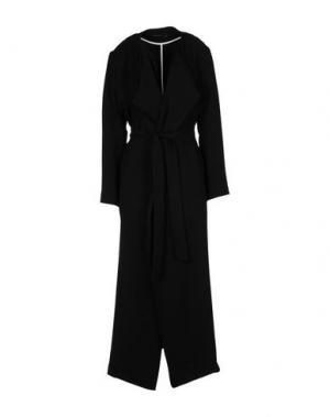 Длинное платье ANGELA MELE MILANO. Цвет: черный