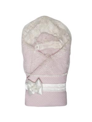 Конверт-одеяло Жемчужинка Сонный гномик. Цвет: розовый