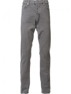 Эластичные джинсы Henley Baldwin. Цвет: серый
