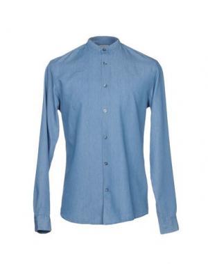 Джинсовая рубашка SELECTED HOMME. Цвет: синий