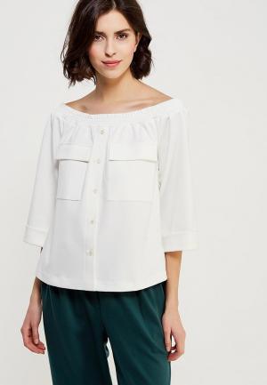 Блуза Ruxara. Цвет: белый