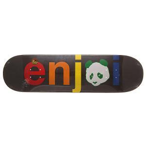 Дека для скейтборда  S6 Spectrum V2 No Brainer Hyb Black 31.7 x 8.25 (21 см) Enjoi. Цвет: черный