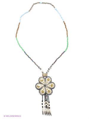 Ожерелье Infiniti. Цвет: синий, серый, белый