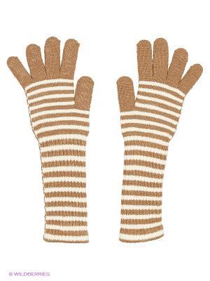 Перчатки Shapkoff. Цвет: темно-бежевый, молочный