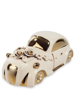 Статуэтка Ретро автомобиль Cervena kostka. Цвет: серебристый