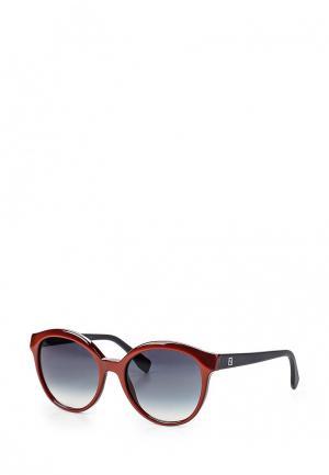 Очки солнцезащитные Fendi. Цвет: красный