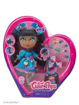 Набор Кьюти Попс Делюкс Кукла Кэнди в голубом с аксессуарами Jada. Цвет: розовый