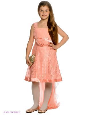 Платье Ilgaz kids. Цвет: розовый