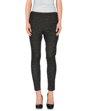 Повседневные брюки HACK. Цвет: черный