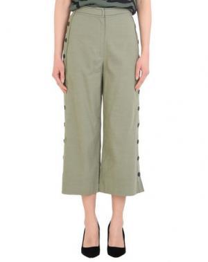 Повседневные брюки C/MEO COLLECTIVE. Цвет: зеленый-милитари