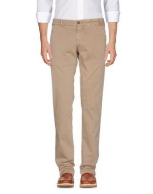 Повседневные брюки MONOCROM. Цвет: песочный
