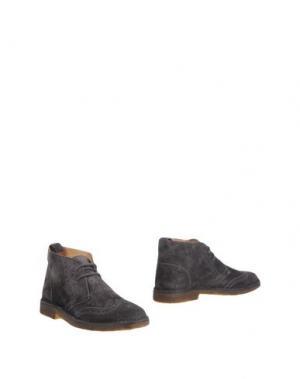 Полусапоги и высокие ботинки STOKTON. Цвет: стальной серый