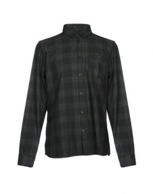 Pубашка WHISTLES. Цвет: темно-зеленый
