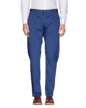 Повседневные брюки HAMAKI-HO. Цвет: грифельно-синий
