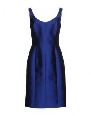 Платье до колена DICE KAYEK. Цвет: синий