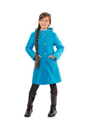 Пальто SAIMA. Цвет: лазурный