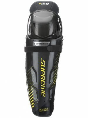 Щитки S17 SUPREME S150 Bauer. Цвет: черный, желтый, серый