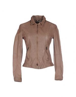 Куртка NELL&ME. Цвет: коричневый