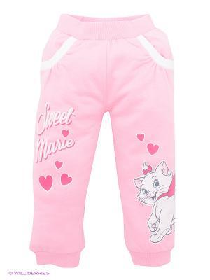 Брюки Disney. Цвет: бледно-розовый