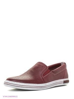Туфли Renaissance. Цвет: бордовый