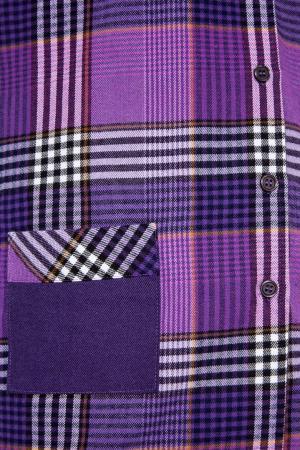 Фиолетовая пижама с брюками Primrose. Цвет: фиолетовый