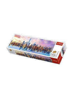 Пазл 1000 дет. панорамные- Манхеттен Trefl. Цвет: белый