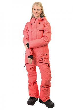 Комбинезон женский  Freedom Suit Coral Insulated Airblaster. Цвет: розовый