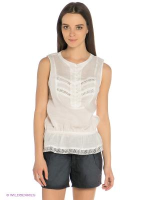 Блузка Baon. Цвет: белый