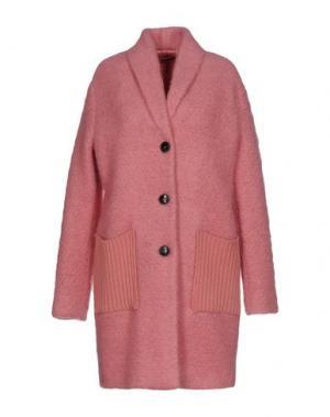 Пальто .TESSA. Цвет: розовый