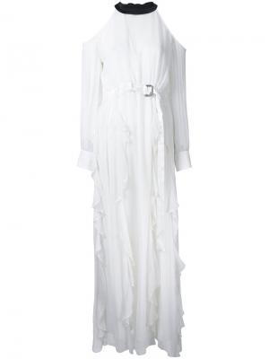 Платье Les Marais Manning Cartell. Цвет: белый