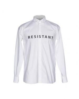 Pубашка MATTHEW MILLER. Цвет: белый