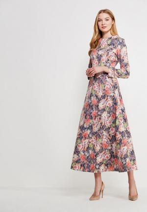 Платье Lussotico. Цвет: разноцветный