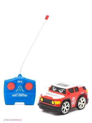 Радиоуправляемая машинка 1Toy. Цвет: красный, белый, синий