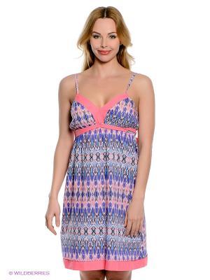 Платье PENYE MOOD. Цвет: голубой, розовый, белый