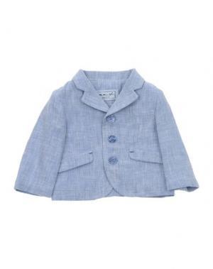 Пиджак MIMISOL. Цвет: небесно-голубой