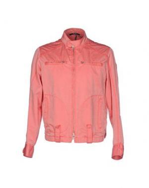 Куртка PAOLONI. Цвет: лососево-розовый
