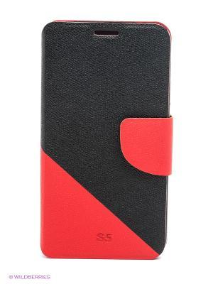 Чехол для Samsung S5 WB. Цвет: черный, красный