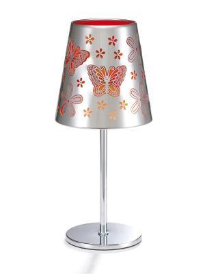 Светильник 350 Бабочки Лючия. Цвет: оранжевый, серебристый