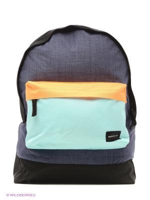 Рюкзак Quiksilver. Цвет: голубой, черный
