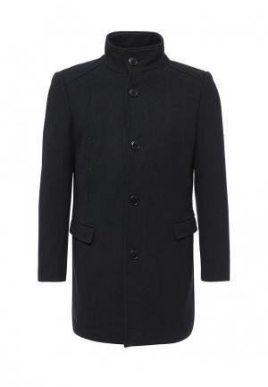 Пальто Selected Homme. Цвет: синий