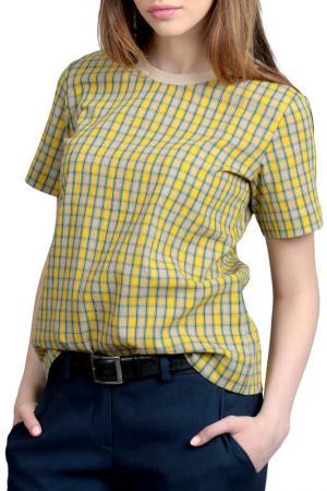 Блузка Энсо. Цвет: желтый
