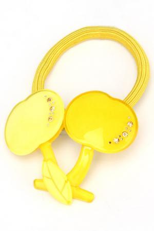 Резинка NICE GIRL. Цвет: желтый