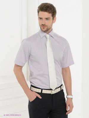 Рубашка Donatto. Цвет: сиреневый