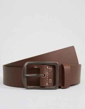 Dickies Кожаный ремень Helmsburg. Цвет: коричневый