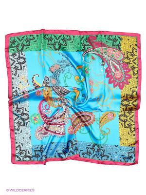 Платок Модные истории. Цвет: голубой